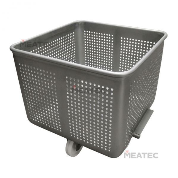 Drain type 200l meat cart/trolley